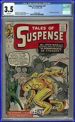 Tales of Suspense #41 CGC 3.5 (W) 3rd Appearance of Iron Man