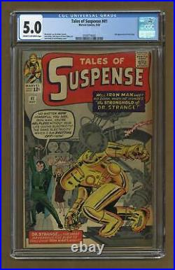 Tales of Suspense #41 CGC 5.0 1963 0350774002