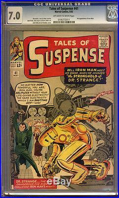 Tales of Suspense #41 CGC 7.0 FN/VF Universal CGC #0195772011