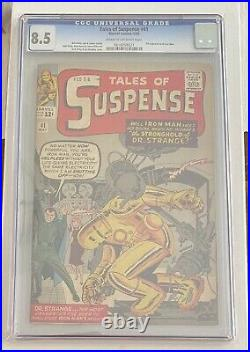 Tales of Suspense #41 CGC 8.5 Cream To Off White Pages 3rd Iron Man