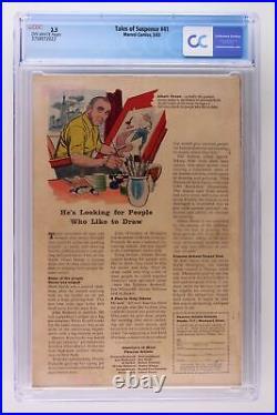 Tales of Suspense #41 Marvel 1963 CGC 3.5 3rd App Iron Man. 1st App Dr Strange