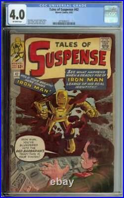 Tales of Suspense #42 CGC 4.0 4th App Iron Man