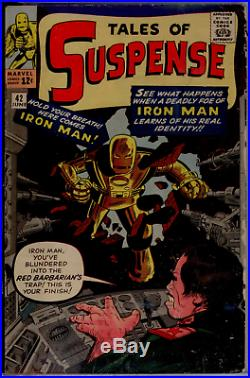 Tales of Suspense #42 CGC 4.0 OWithWHITE pages 4th Iron Man