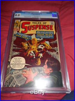Tales of Suspense # 42 CGC (8.0) June 1963