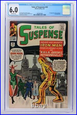 Tales of Suspense #43 Marvel 1963 CGC 6.0 1st Appearance of Kala, Queen of the