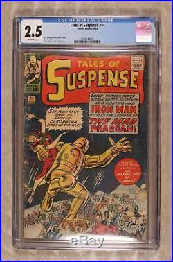 Tales of Suspense #44 1963 CGC 2.5 0320148014