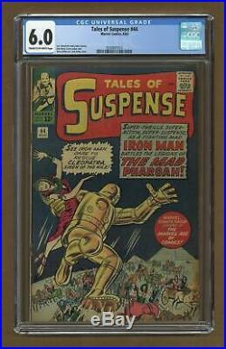 Tales of Suspense #44 1963 CGC 6.0 0350801012
