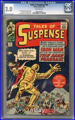 Tales of Suspense #44 CGC 3.0