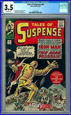 Tales of Suspense #44 CGC 3.5 (OW)