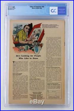 Tales of Suspense #44 CGC 8.0 VF Marvel 1963 Iron Man