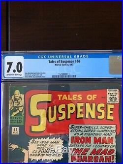 Tales of Suspense #44 CGC VF- 7.0
