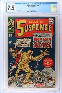 Tales of Suspense #44 Marvel 1963 CGC 7.5 Iron Man