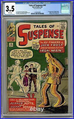 Tales of Suspense #45 CGC 3.5 1963 2102505009