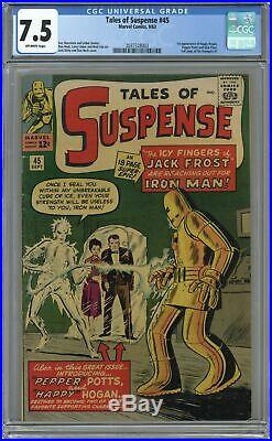 Tales of Suspense #45 CGC 7.5 1963 2037328003