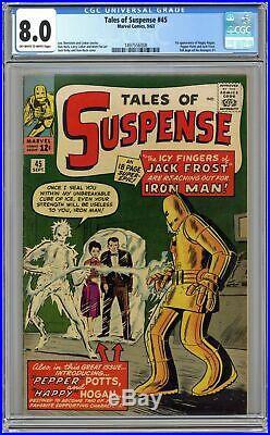 Tales of Suspense #45 CGC 8.0 1963 1497556008