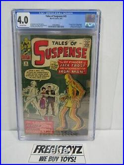 Tales of Suspense #45, CGC Universal Grade 4.0, Marvel Comics 1963, Happy Hogan