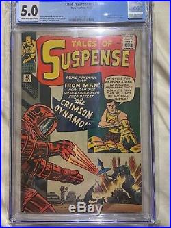 Tales of Suspense #46 CGC 5.0 IRON MAN