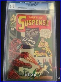Tales of Suspense #46 CGC 6.0 Off White-White Pages 1st Crimson Dynamo