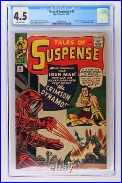 Tales of Suspense #46 Marvel 1963 CGC 4.5 1st Appearance of the Crimson Dynamo