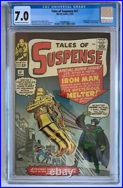 Tales of Suspense #47 CGC 7.0 Gold Iron Man 1st App Melter Marvel Comics