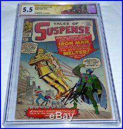 Tales of Suspense #47 CGC SS Signature Autograph STAN LEE Origin 1st Melter