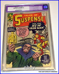 Tales of Suspense 48 CGC 2.5 1st Appearance RED GOLD ARMOR IRON MAN DITKO MARVEL