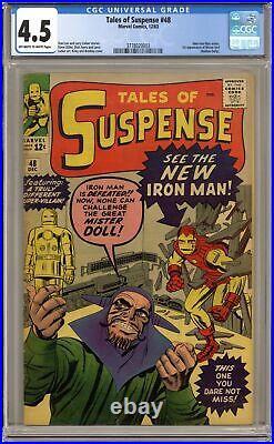 Tales of Suspense #48 CGC 4.5 1963 3778020003