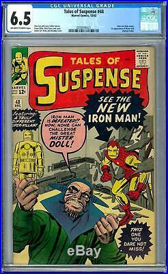 Tales of Suspense #48 CGC 6.5 (OW-W)