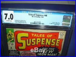 Tales of Suspense #48 CGC 7.0 with OW pages from 1963! 1st Red Armor not CBCS