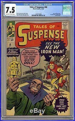 Tales of Suspense #48 CGC 7.5 1963 1497572006