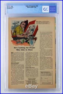 Tales of Suspense #48 CGC 7.5 VF- Marvel 1963 New Iron Man Armor