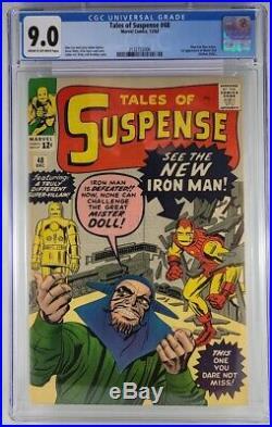Tales of Suspense #48 CGC 9.0 New Iron Man Armor