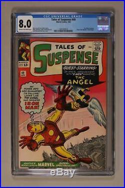 Tales of Suspense #49 1964 CGC 8.0 1341423012