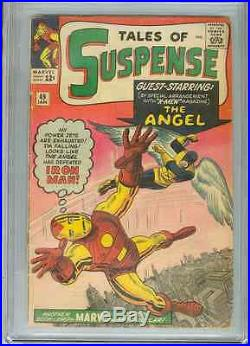 Tales of Suspense #49 (1st X-Men xover) CGC 3.5 Crm to OWP