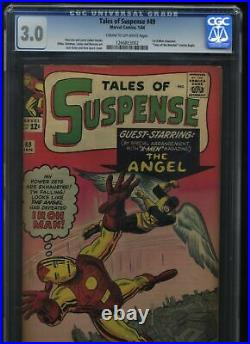 Tales of Suspense #49 3.0 CGC 1st X-Men crossover & 1st Avengers crossover