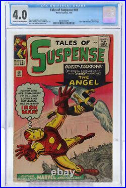 Tales of Suspense # 49 CGC 4.0 Marvel Silver Age 1st X-Men crossover
