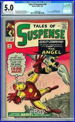 Tales of Suspense #49 CGC 5.0 (OW-W) 1st X-Men Crossover