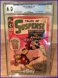 Tales of Suspense 49 CGC 6.0 (1st X-Men crossover) CLEAN