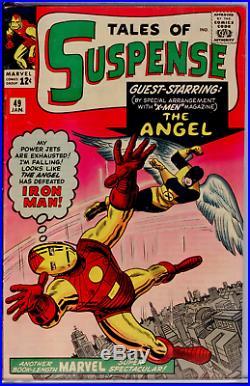 Tales of Suspense #49 CGC 6.5 Iron Man, X-Men crossover
