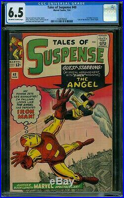 Tales of Suspense 49 CGC 6.5 OWithW Pages