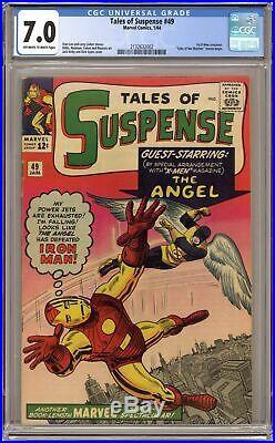 Tales of Suspense #49 CGC 7.0 1964 2132632002