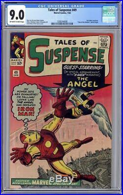 Tales of Suspense #49 CGC 9.0 1964 1268344008