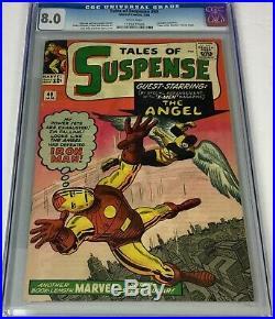 Tales of Suspense #49 CGC 9.0 RARE WHITE 1964 KEY 1ST -MEN -OVER HI-GRADE