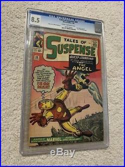 Tales of Suspense #49 (Jan 1964, Marvel) CGC 8.5 1st X-Men Crossover HOT BOOK