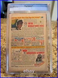 Tales of Suspense 4 CGC 2.0 Atlas Marvel July 1959