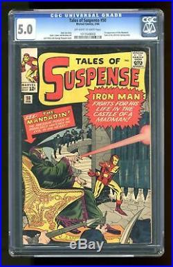 Tales of Suspense #50 1964 CGC 5.0 1012549003