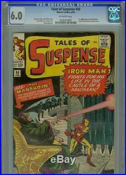 Tales of Suspense #50 (1st Mandarin) CGC 6.0 OWP