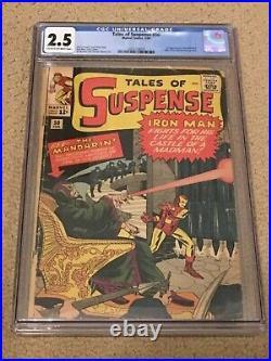Tales of Suspense 50 CGC 2.5 (1st app of the Mandarin!)- Classic SA Iron Man