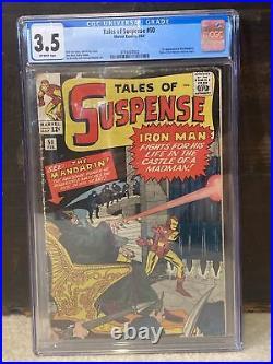 Tales of Suspense #50 CGC 3.5 (Marvel 1964) 1st app. Mandarin MCU Shang Chi