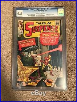 Tales of Suspense 50 CGC 4.5 First appearance of the Mandarin! Upcoming Moive